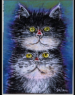 Twin Cats (artista sconosciuto)